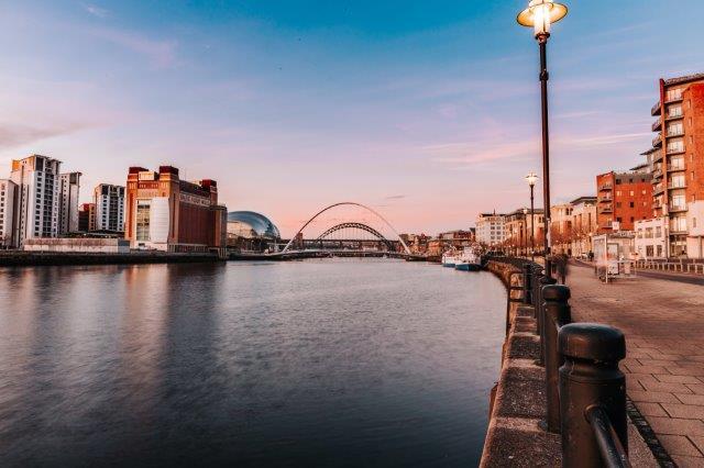 Newcstle Quayside, Baltic Arts Gateshead,Tynemouth